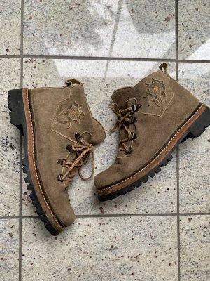 Dirndl + Bua Aanrijg laarzen veelkleurig