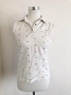 Folkloristische blouse veelkleurig Katoen