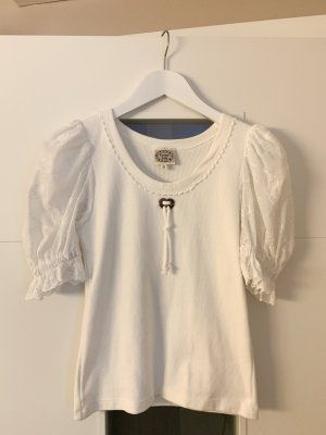 Country Line Tradycyjna bluzka biały