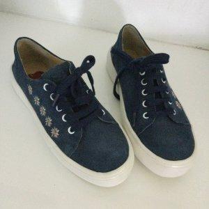 Trachten Sneaker aus Leder, Gr 37 NEU