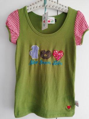 Blusa tradizionale verde