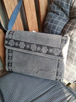 Bolso folclórico gris claro-gris