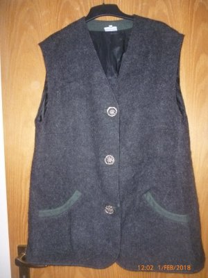 Country Line Traditional Vest black-taupe