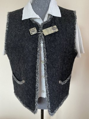 Steinbock Traditional Vest black-grey