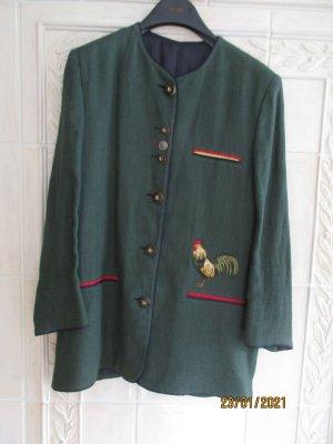 Giacca tradizionale verde scuro Lino