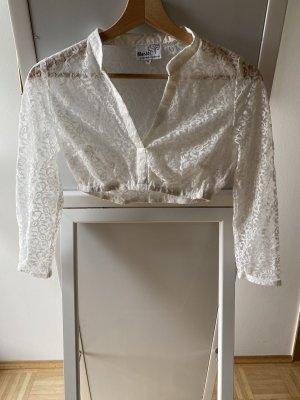 MarJo Folkloristische blouse wit