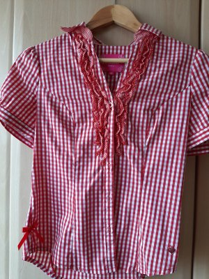 Krüger Blusa tradizionale rosso