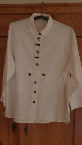 original ALPHORN Traditional Blouse white
