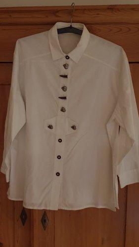 original ALPHORN Blusa tradizionale bianco