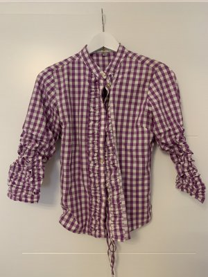 Almsach Checked Blouse multicolored