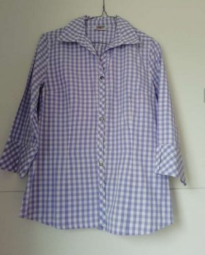 Country Line Traditional Blouse white-purple