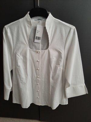 Landhaus Austrian Style Tradycyjna bluzka w kolorze białej wełny