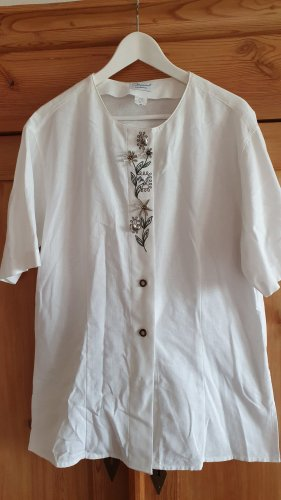 IMPERIAL Landhaus Folkloristische blouse wit