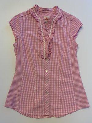 Spieht & Wensky Blusa tradizionale multicolore