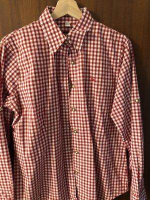 Blusa de cuello alto rojo