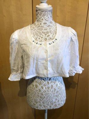 Alphorn Linen Blouse white