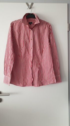 Luis Steindl Traditional Blouse white-red
