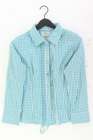 Camicia a scacchi blu-blu neon-blu scuro-azzurro Cotone