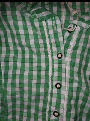 Fuchs Trachtenmoden Traditional Blouse green-white