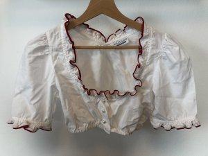 Krüger Dirndl Traditional Blouse white-red