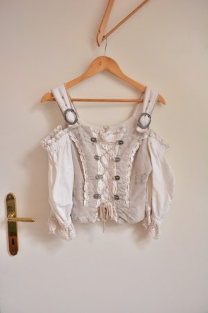 Traditional Blouse multicolored linen