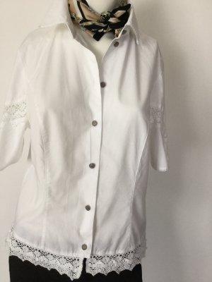 Alphorn Traditional Blouse white cotton