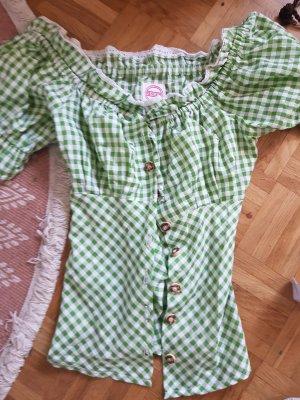 Blusa tradizionale verde chiaro