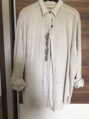 Hess Frackmann Tradycyjna koszula kremowy