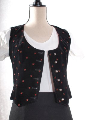Traditional Vest black