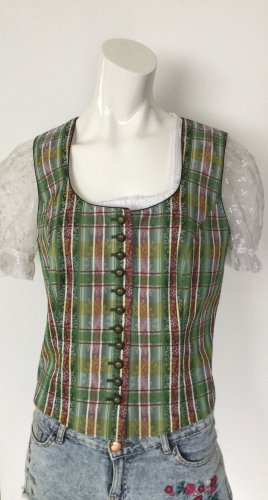 Mode aus Salzburg by h.moser Traditional Vest lime-green-natural white
