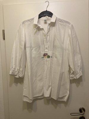 Trachtenhemd von Gössl mit Stickereien