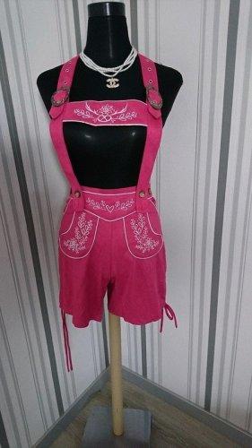 Dirndline Pantalon bavarois rose polyester