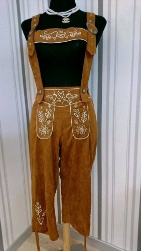 Traditional Trousers brown mixture fibre