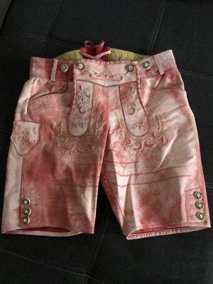 Krüger Dirndl Pantalón de cuero tradicional multicolor