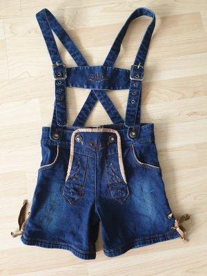 Pantalon bavarois bleu