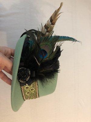 Folkloristische hoed lichtgroen