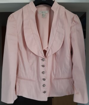 Mango Suit Tradycyjna kurtka różowy-jasny różowy