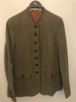 Kleidermanufaktur Habsburg Tradycyjna kurtka zielono-szary