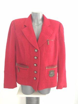 Spieth & Wensky Blazer in lana rosso