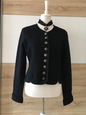 Country Lady Tradycyjna kurtka czarny Moher