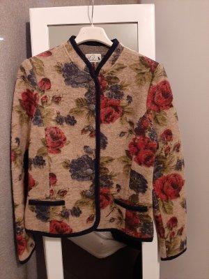 Huber Giacca di lana multicolore