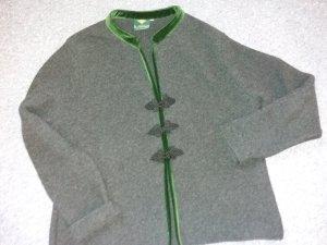 H.Moser Giacca tradizionale nero-verde scuro