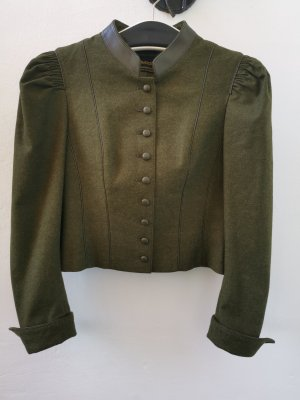 Traditional Jacket green grey-olive green