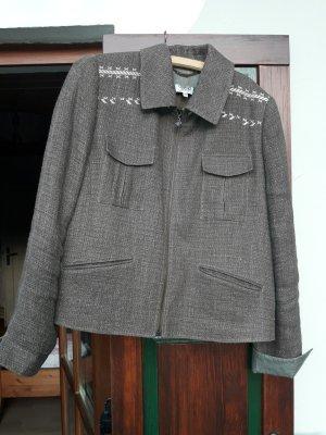 Country Life Tradycyjna kurtka ciemnozielony Bawełna