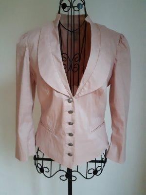 Mango Suit Chaqueta folclórica rosa-rosa claro