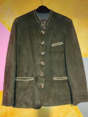 H.Moser Tradycyjna kurtka brązowy