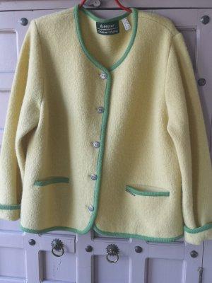 H.Moser Tradycyjna kurtka bladożółty-jasnozielony