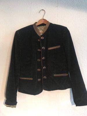 Sonnblick Tradycyjna kurtka ciemnoniebieski-jasnobrązowy