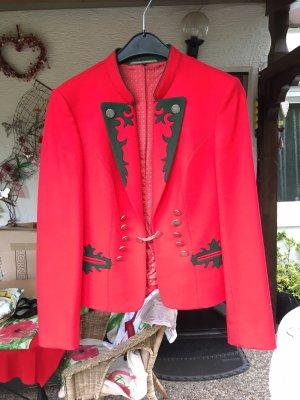 Giacca tradizionale rosso