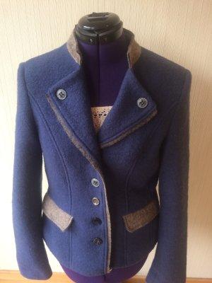 Heine Giacca tradizionale blu acciaio-marrone-grigio